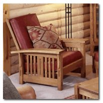 Arts and Crafts Morris Chair Woodworking Plan, Mission Style